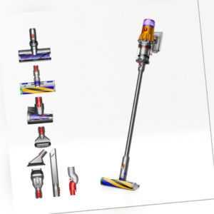 Dyson V12 Slim Absolute Neuware Kabelloser Staubsauger Gelb/Nickel