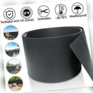 40X Sichtschutzstreifen Sichtschutzfolie Sichtschutzmatte Hart PVC 2.5mx19cm