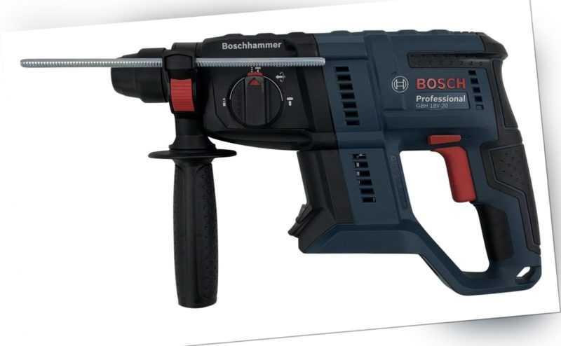 Bosch GBH 18 V-20 Solo Professional Akku-Schlagbohrhammer L-BOXX 0611911001
