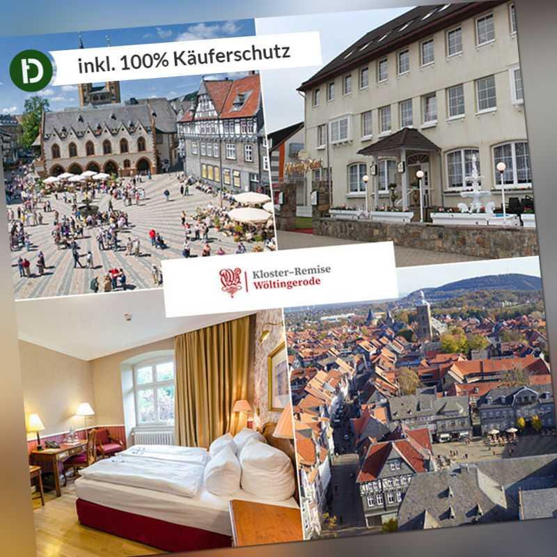 6 Tage Urlaub in Goslar im Harz im Hotel Kloster Remise mit Halbpension