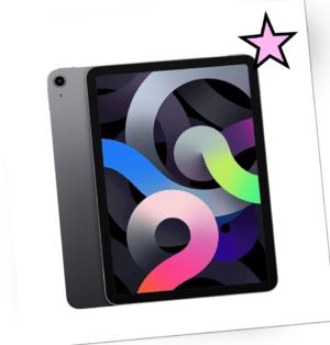 Apple iPad Air 4. Gen 2020 Space Gray 256GB Wi-Fi 10,9 Zoll versiegelt OVP NEU