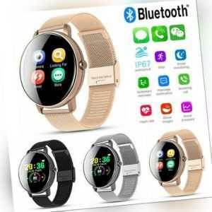 Bluetooth Smartwatch Armband Sportuhr Fitness Tracker Schlafmonitor Wasserdicht