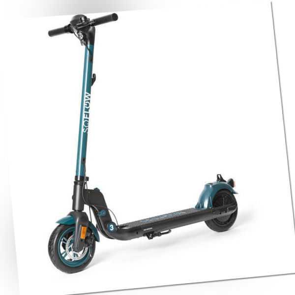 SOFLOW - SO3 E-Scooter black/green mit dt. Straßenzulassung #neuwertig
