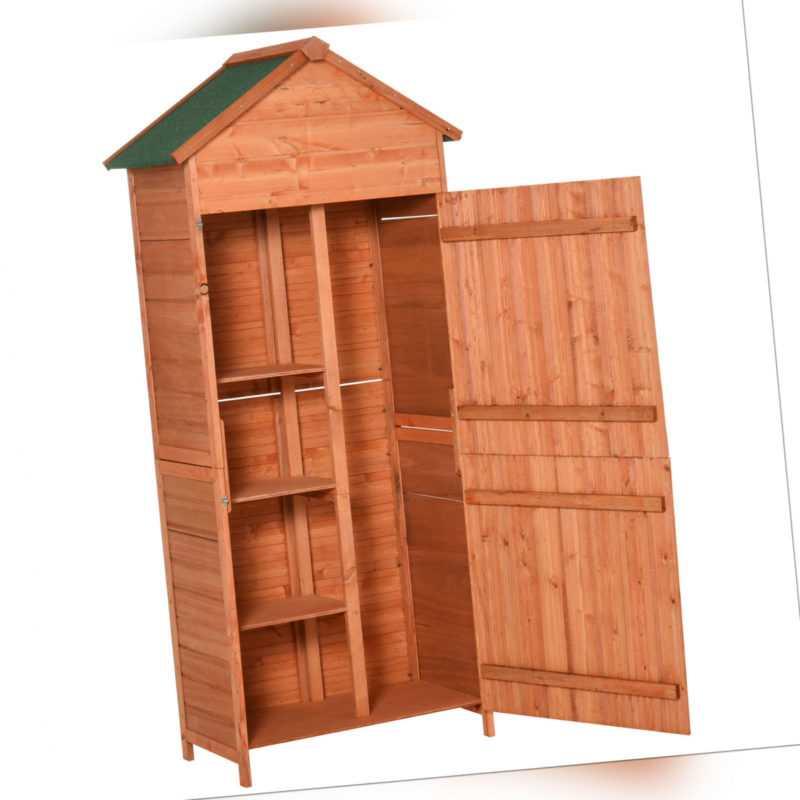 Holz Gerätehaus Geräteschuppen Gartenschrank Geräteschrank Gartenhaus