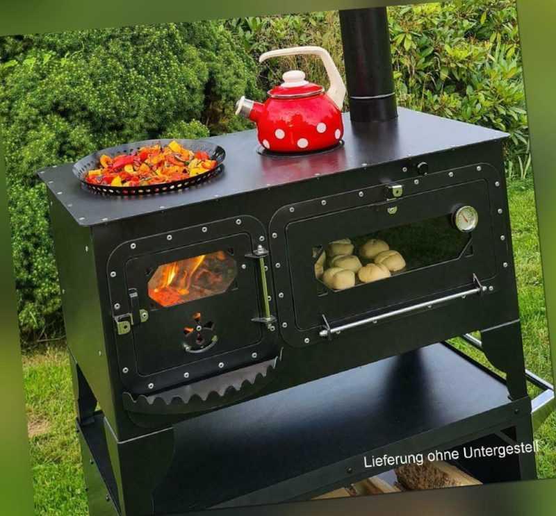 "XL Pizza-/Brotbackofen ""Elise XL"" Gartenküche Holzbackofen Outdoor-Herd  ..."