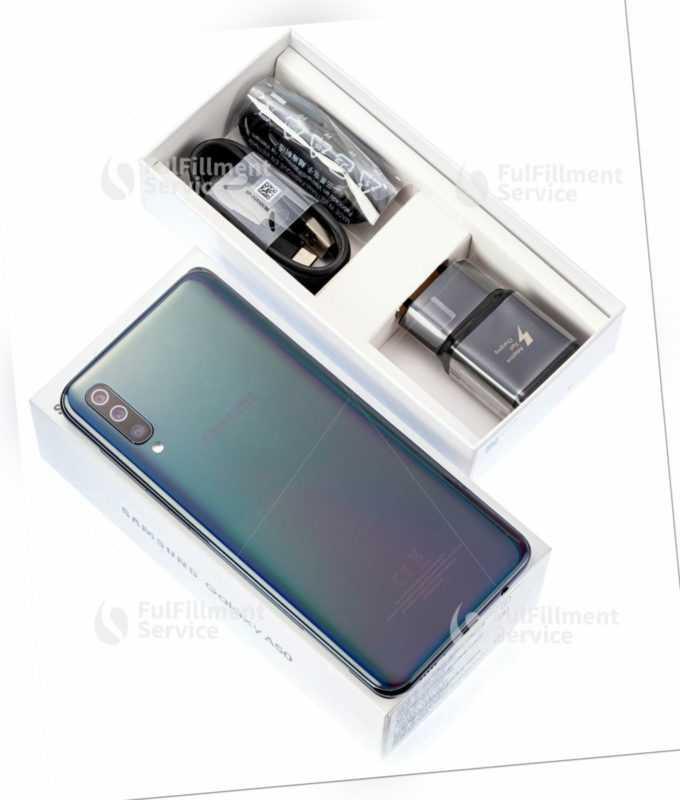 Samsung Galaxy A50 128gb A505 Black Schwarz Smartphone Handy...
