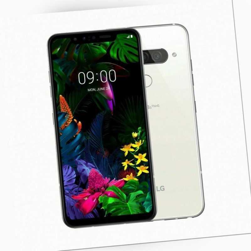 LG G8S ThinQ - 128GB - Mirror White (Ohne Simlock) (Dual-SIM)