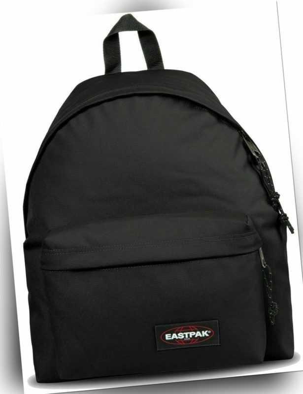 Eastpak Rucksack Schulrucksack Padded Pakr Schwarz / Black City Backpack