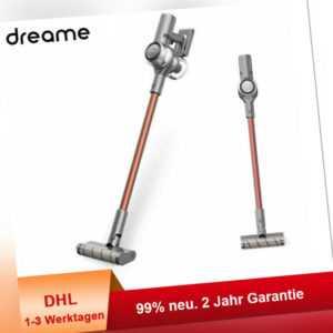 Dreame V11 Kabelloser Handstaubsauger Sperrknopf OLED Display 90min 125000rpm EU