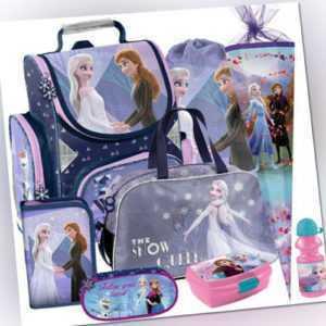 Frozen II Schulranzen Tornister Ranzen Rucksack Schulrucksack Set Schultüte lila