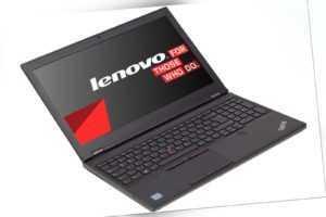 "Lenovo ThinkPad P50 Workstation 15,6"" FHD IPS i7-6820HQ (2,7GHz) 16GB 256GB SSD"