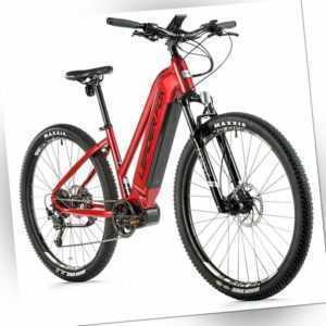 29 Zoll E-Bike MTB Leader Fox AWALON LADY 36V 720Wh 20Ah Modell 2021 rot
