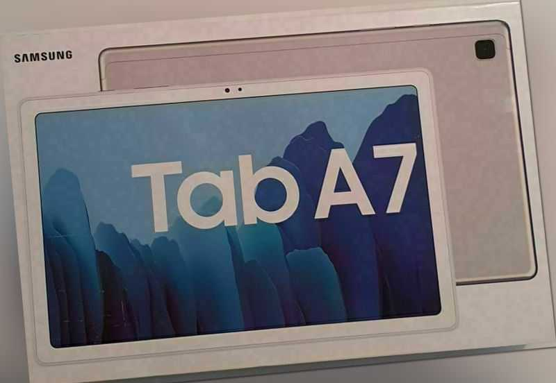 "SAMSUNG TAB A7 Wi-Fi Tablet 32GB 3GB RAM 10.4"" Android 10.0 Silber NEU OVP"