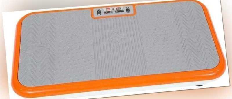 Vibroshaper, Vibrationsplatte, orange, inkl. Fitnessbänder