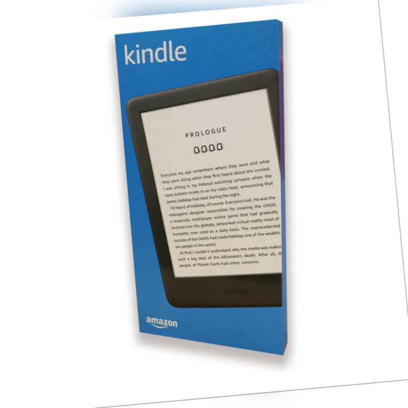 """Amazon Kindle 6"""" - 2019 - E-Book Reader 15,2 cm (6 Zoll) Touchscreen schwarz - H"""