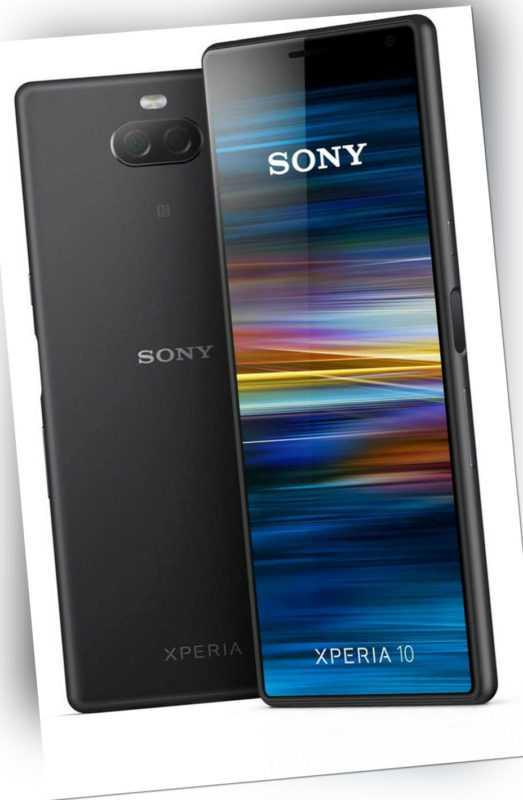 Sony Xperia 10 Single Sim Black