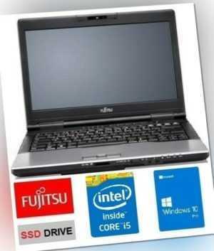 FUJITSU LIFEBOOK S751 i5- 2,50GHz 8GB DDR3 RAM SSD 256GB WIN10 PRO