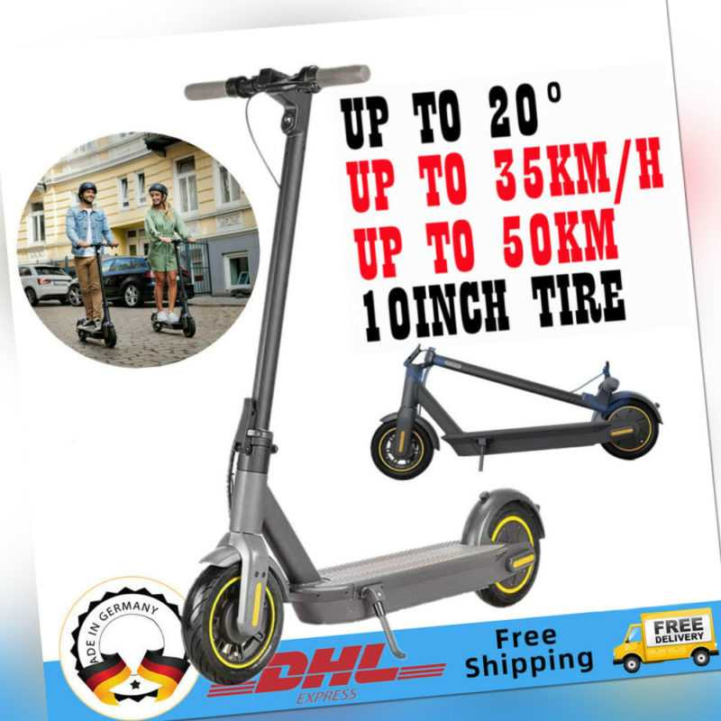 10'' Elektro-Scooter E-Scooter 720W Motor 15Ah Batterie 45km Reichweite G30 MAX