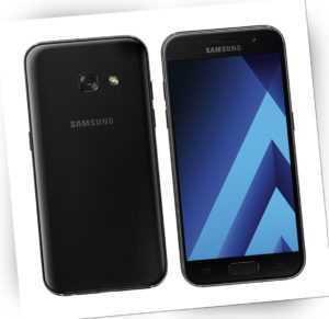 Samsung Galaxy A3 2017 SM-A320FL Black Schwarz A320 LTE Android...