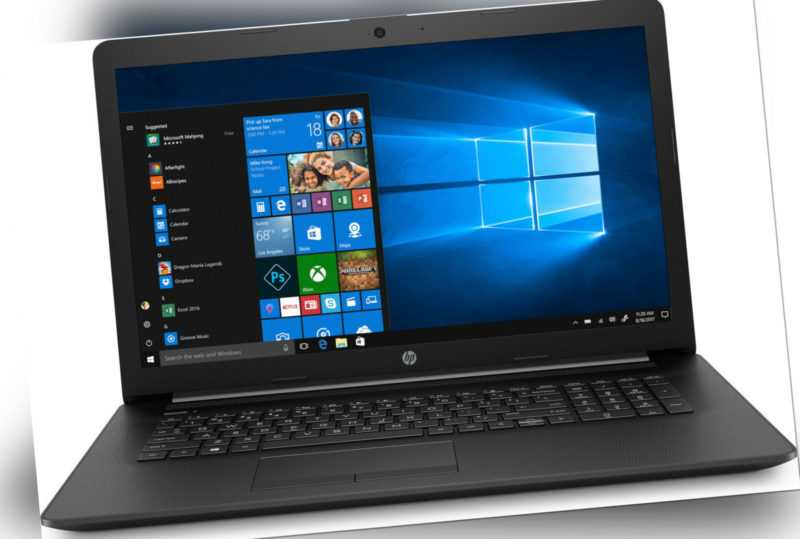 HP 17,3 Zoll Notebook 17-by2215ng 512GB SSD 8GB RAM Pentium Gold schwarz