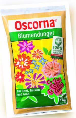 Oscorna Blumendünger 1 kg Universal Gartendünger Naturdünger Balkonblumendünger