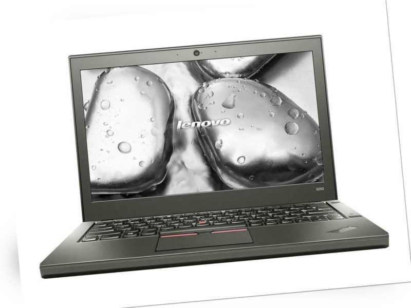 Lenovo ThinkPad X250 Laptop Intel Core i5-5300U 8GB RAM 500GB HDD LTE Win 10 Pro