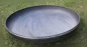 Feuerschale Klöpperboden 400 mm 40 cm Wanddicke 3 mm