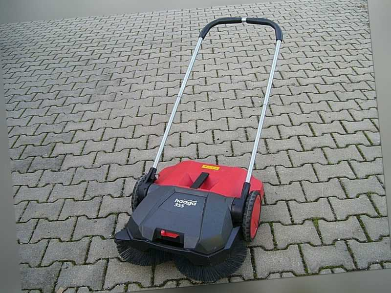 Haaga Kehrmaschine 355  Profi 2022