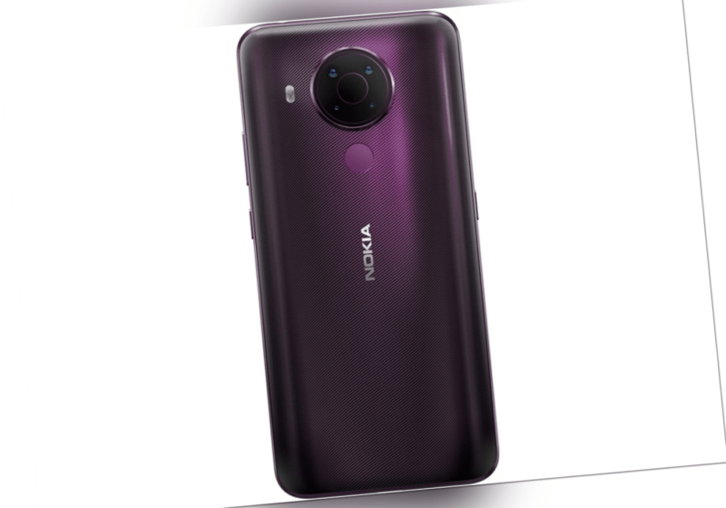 Nokia 5.4 Smartphone 6,39-Zoll-HD+ Display violet 4 GB 128 GB...