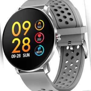 Denver bluetooth Smartwatch SW-171 grau 3.3 cm iOS Android Fitnesstracker Touch