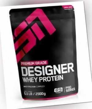 ESN Designer Whey 2500g Beutel (19,96€/Kg) Protein Eiweiß