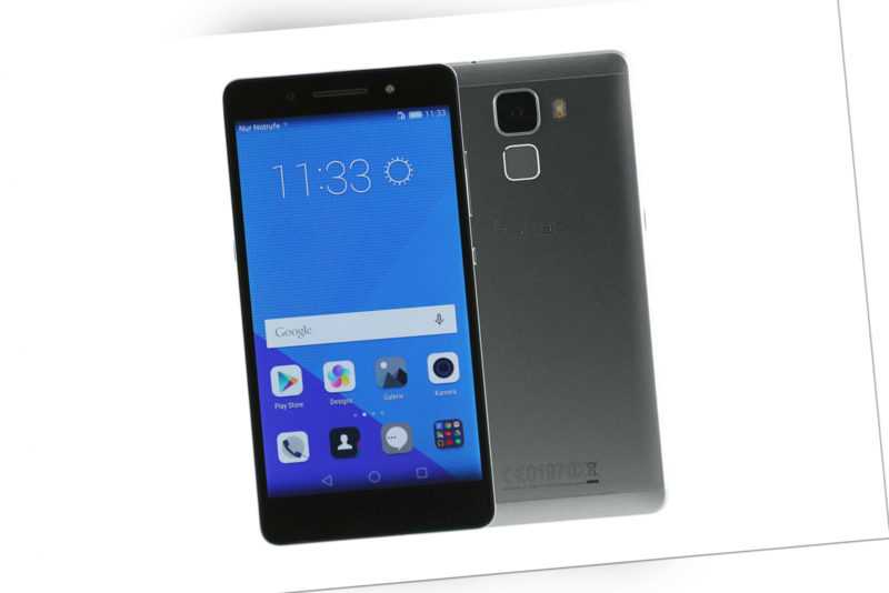 Huawei Honor 7 - 16GB - Grau (Ohne Simlock) Smartphone - Wie Neu -