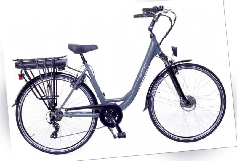 28 Zoll Elektrofahrrad Damen Fahrrad E-Bike E-Active 7G Schaltung Lithium Ion
