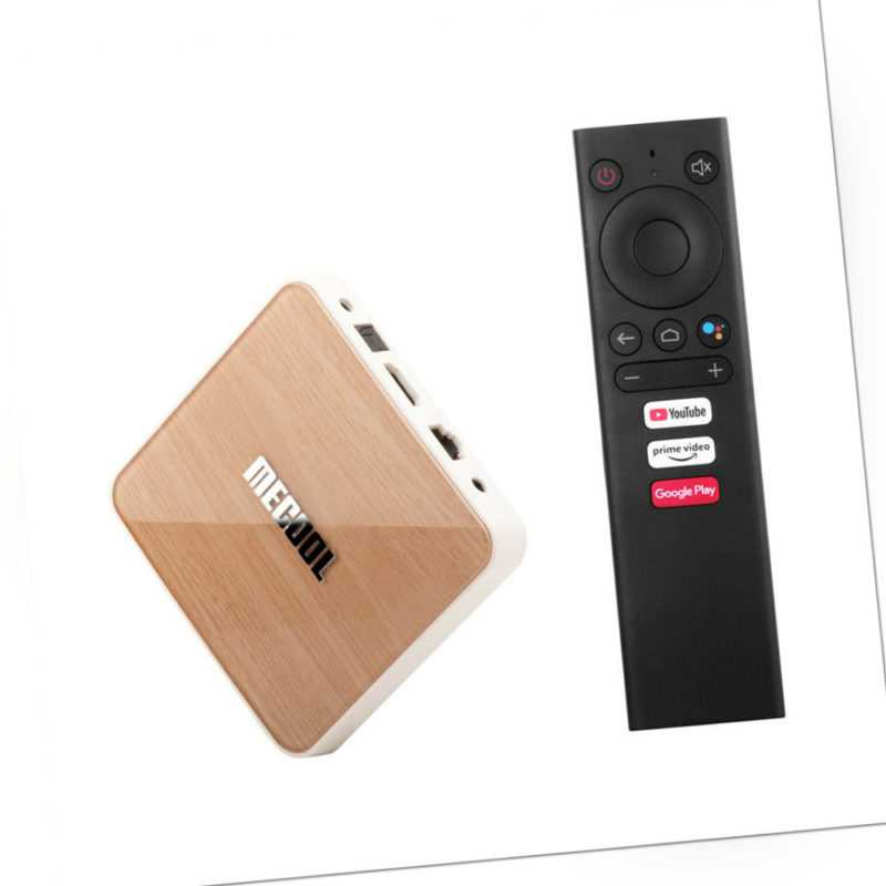 MECOOL KM6 DELUXE Android 10.0 TV-Box 4+32GB 4K BT5.0 S905X4 2T2R WiFi VP9 Y3R7