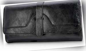 WalletAddict - Modell Berlin   Klassische Damen-Geldbörse aus Echt-Leder
