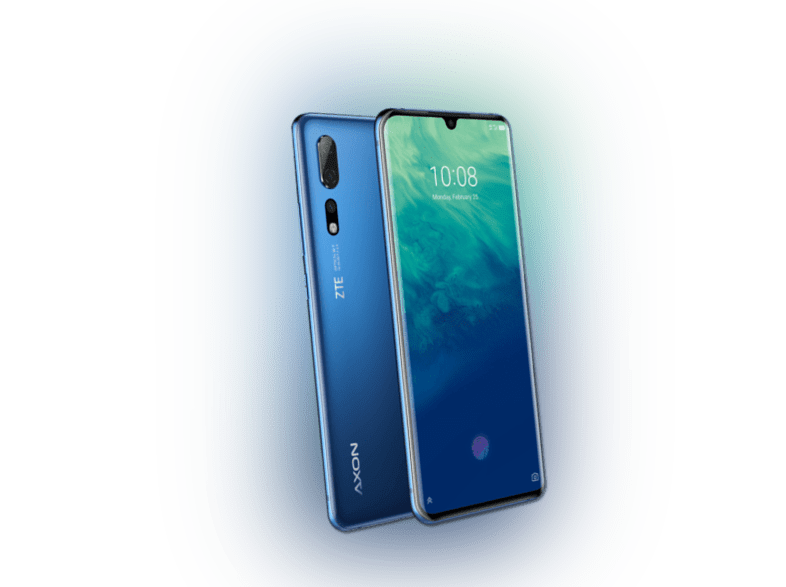 ZTE AXON 10 PRO 128 GB Blau Dual SIM  Smartphone