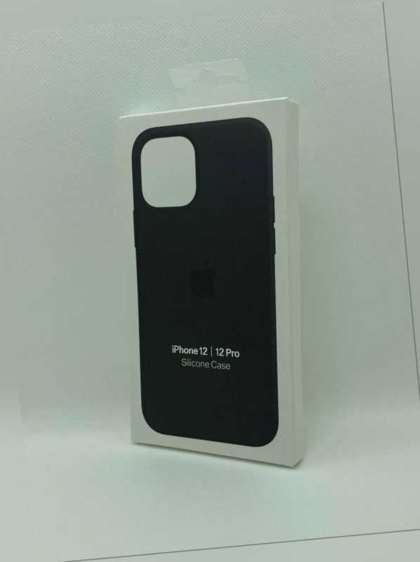 iPhone Silikon Case Schwarz für Original Apple iPhone 12 / 12 PRO Schutz Hülle
