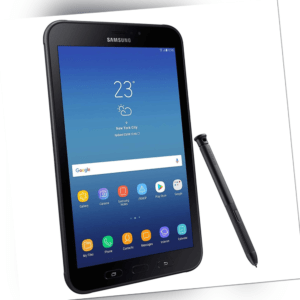 Samsung Galaxy Tab Active 2 SM-T395 LTE 8 Zoll 16GB 3GB Android Tablet Schwarz