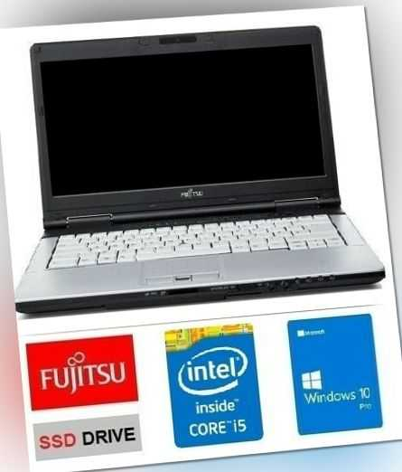 FUJITSU LIFEBOOK S780 i5- 2,67GHz 8GB DDR3 RAM SSD 128GB WIN10 PRO