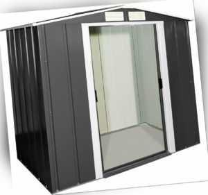 Tepro Metallgerätehaus Eco 202x122,1x180,5 cm Gerätehaus Geräteschuppen Metall