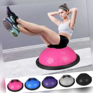 Yoga Balance Trainer Ball Balancetrainer Gymnastikball Halfball Trainingsball DE