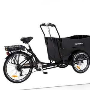 E- Lastenrad Clamber / Ebike / Kinderfahrrad / Transportfahrrad /Marke Clamber