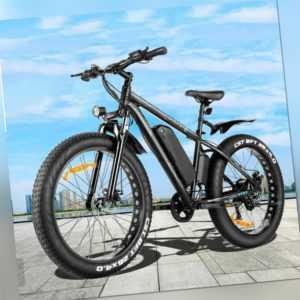 Elektrofahrrad Mountainbike 500W E-bike 26Zoll Ebike Shimano Pedelec 48V/12.5Ah