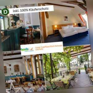 4 Tage Kurzurlaub in Sachsen im Hotel Gasthaus Zum Schwan inklusive Halbpension
