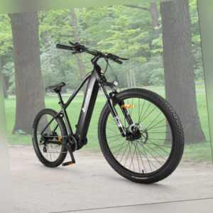Accolmile Electric Mountain Bike 27.5inch BAFANG 250W Mid Drive Motor 540Wh Akku