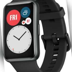HUAWEI Watch Fit Stia-B09 Graphite Schwarz Smartwatch Fitnesstracker Android iOS