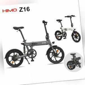 HIMO Z16 Klappfahrrad Elektro E bike Klapprad Faltrad Leicht HD LCD 16'' 25km/h