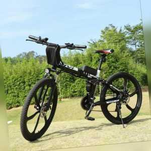 26''Elektrofahrrad E-Bike Klapprad E-fahrrad MountainbikeShimano 21-Gäng 350W DE