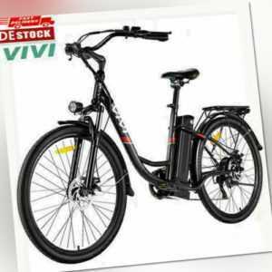 Elektrofahrrad 26 Zoll ebike Mountainbike 350W Motor CityBike Unisex Cruiser DE_