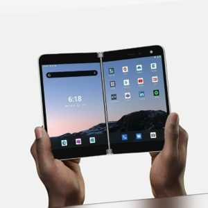 Microsoft Surface Duo 256GB + 6GB RAM Android 10 LTE Glacier Händler OVP NEU